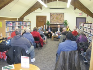 Longshot of the Gerrard Ashdale library CWC presentation in March 2016