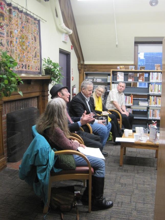 The CWC gang up close - Sharon, Steve Shrott, Nate Hendley, Lisa deNikolits, Mark Eddy